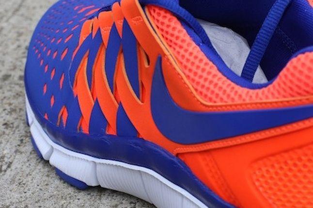 Nike Free Trainer 5 0 Crimson Hyperblue Heel Midfoot Detail 1