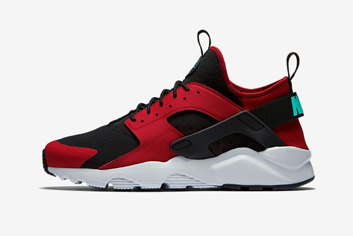 Nike Air Huarache Ultra (Black/Red) - Sneaker Freaker