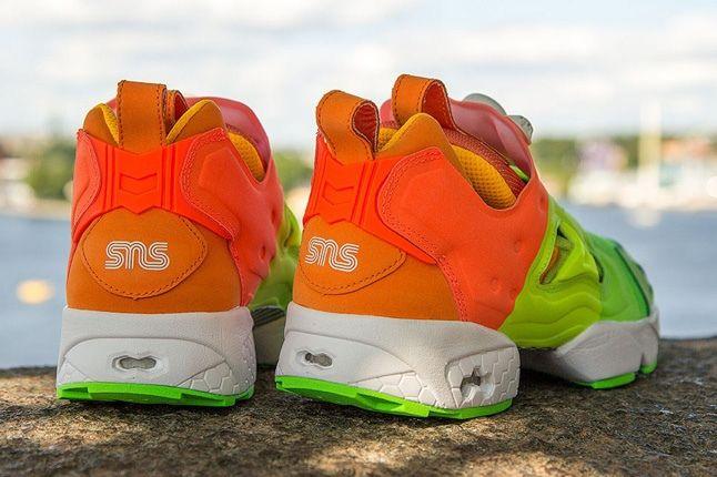 Sneakersnstuff Reebok Pump Fury Popsicle Heel Profile