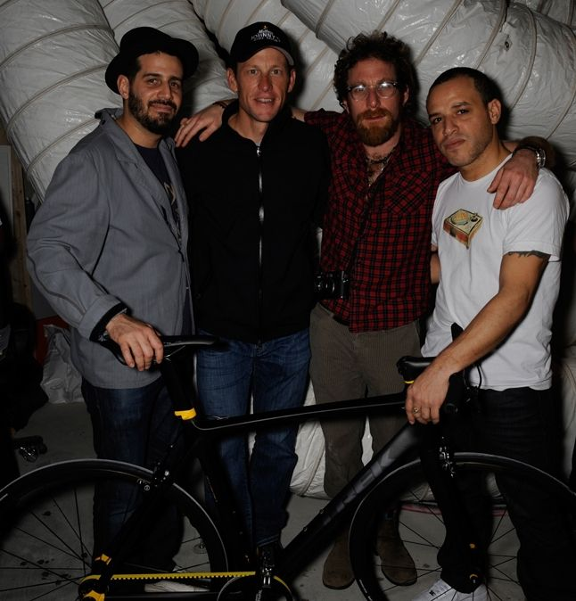Jose Parla  Lance Armstrong  Dustin Yellin  Dzine 1