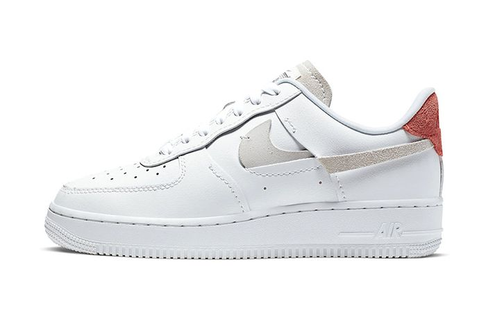 Nike Air Force 1 Inside Out White 898889 103 Release Date Lateral