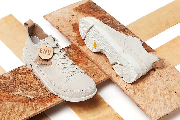 End X Clarks Originals Trigenic Flex Maple6