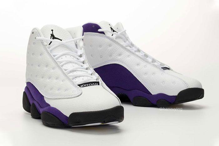 Air Jordan 13 Lakers Quarter Right