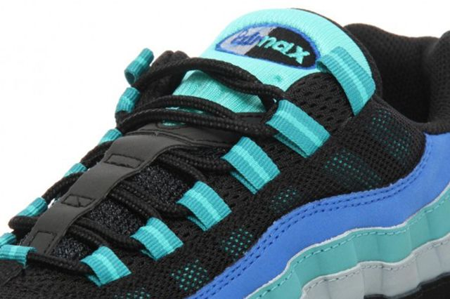 Nike Air Max 95 Black Hyper Cobalt 3 580X580