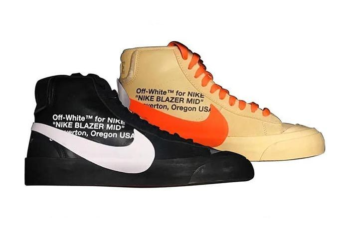 Off White X Nike Spooky Pack Blazer Mid All Hallows Eve Grim Reepers 3