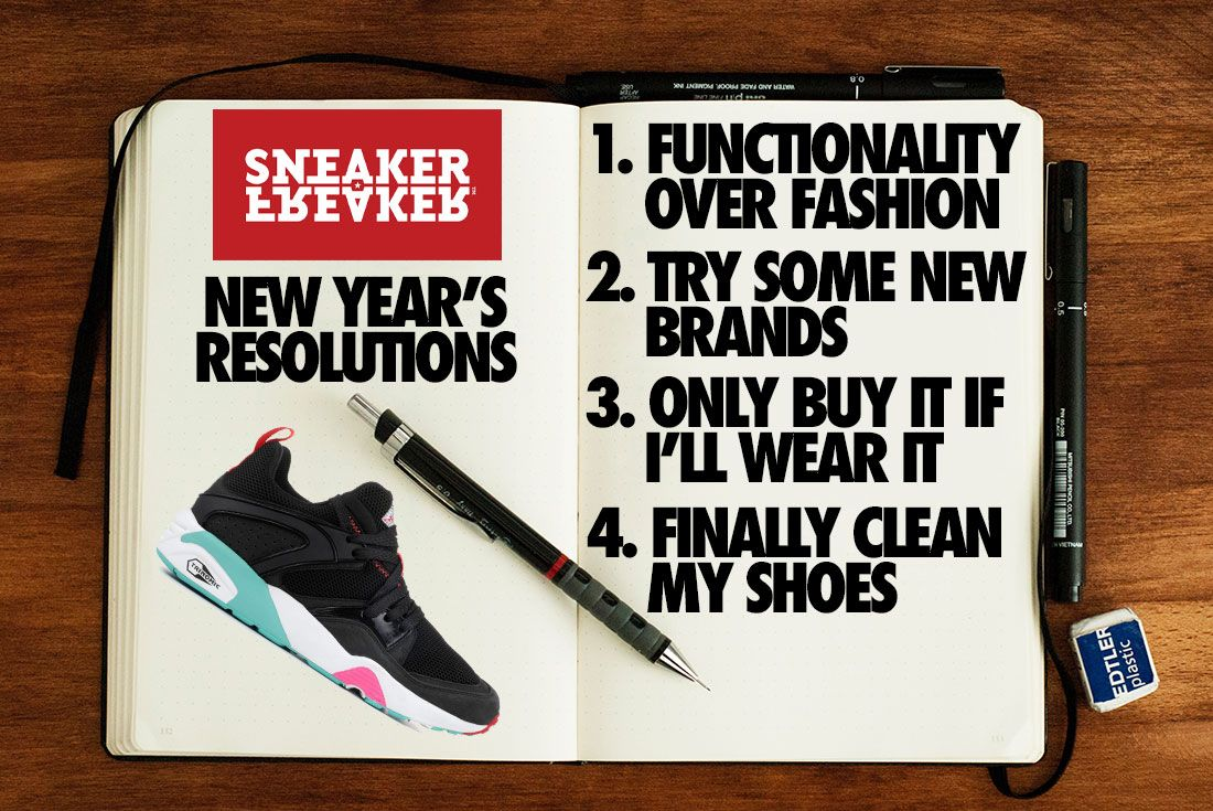 Sneaker Freaker 2020 Resolutions Header