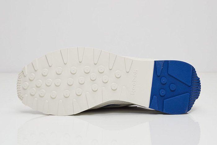 Reebok Aztec Leather White Blue 3