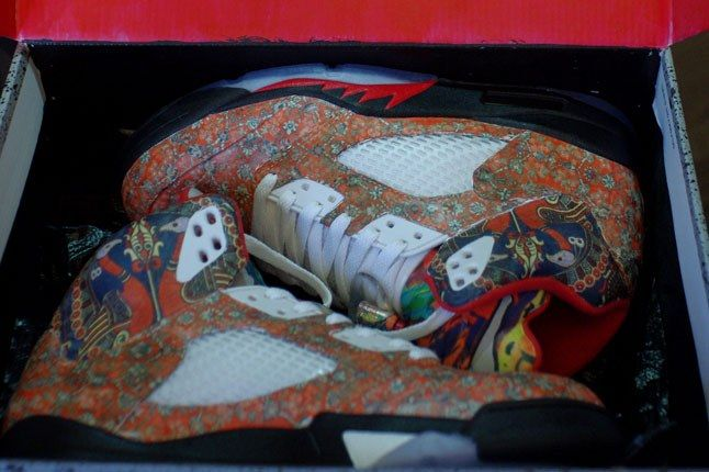 Air Jordan 5 Rocket Boy Nift Custom In Box 1