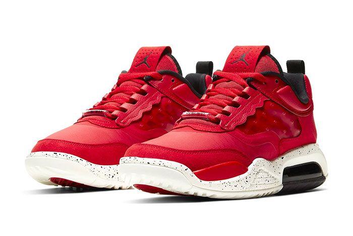 Nike Jordan Air Max 200 Fire Red Sail Cd6105 601 Release3