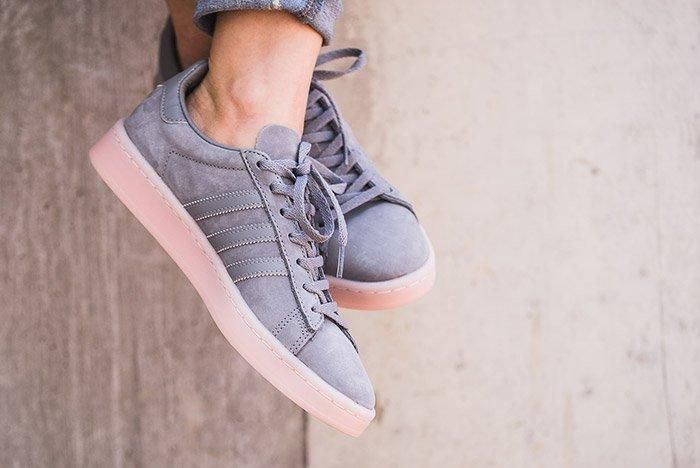 Adidas Campus Womens Ice Pink 2