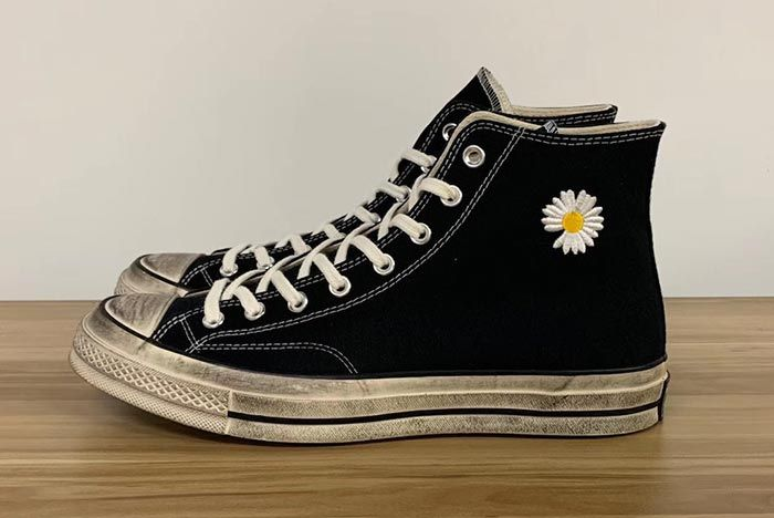 G Dragon Peaceminusone Converse Chuck Taylor All Star Left Side Pair