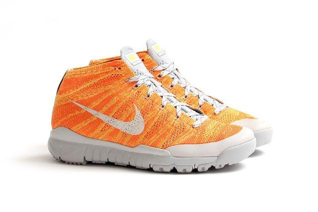 Nike Flyknit Trainer Chukka Fsb Total Orange 4