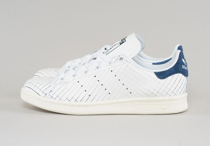 Stan Smith Sliced Leather Feature