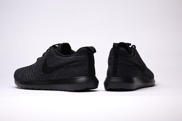 Nike Flyknit Rosherun Black Black 4
