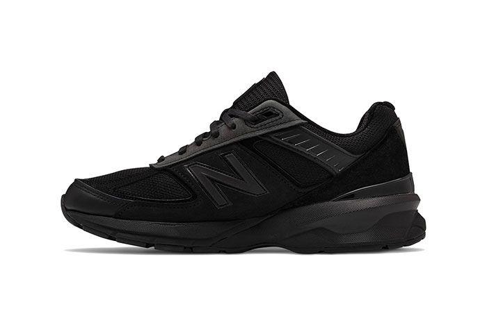 Engineered Garments New Balance 990V5 Black Medial