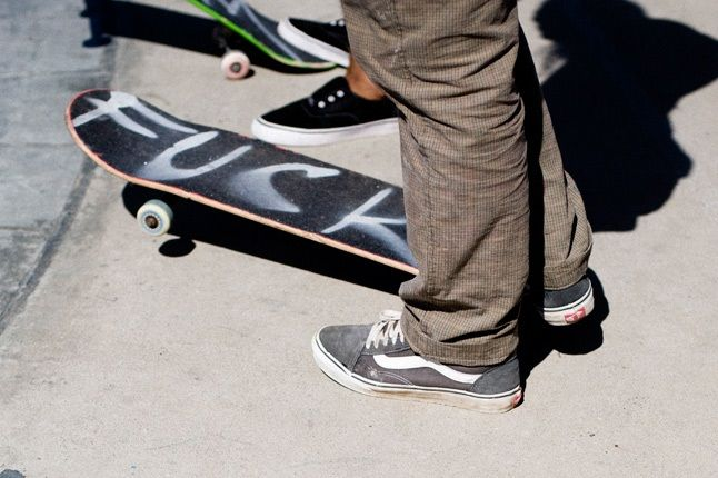 Syd Vans Skater 1