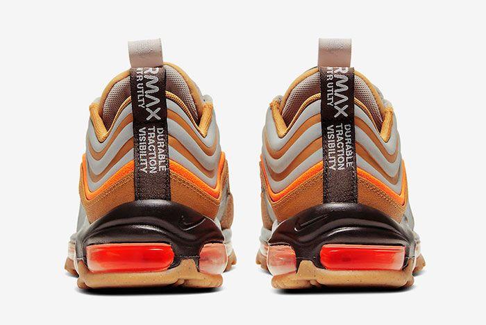 Nike Air Max 97 Winter Utility Bq5615 200 Heel