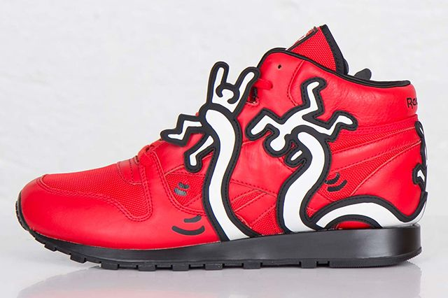 Keith Haring Reebok Classic Leather Mid Lux