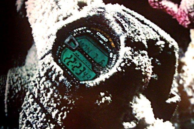 G Shock Snow 1
