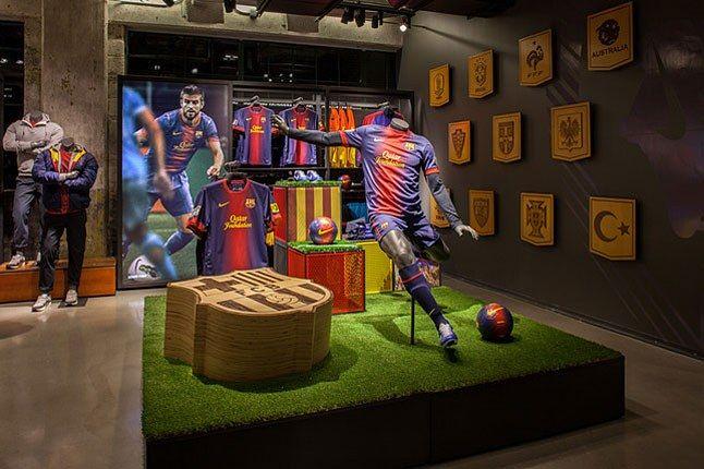 Barcelona Nike Shirt 1