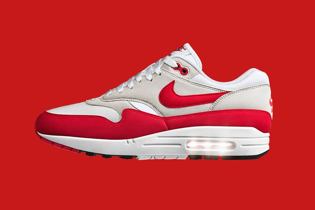 Nike Air Max 1 Sport Red Og 3