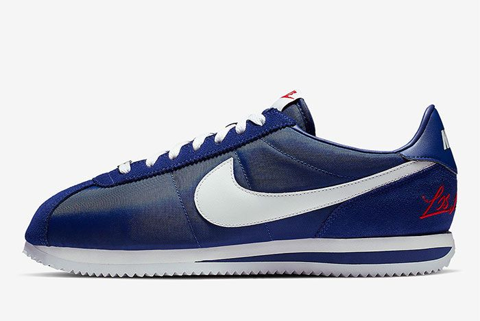Nike Cortez Los Angeles Blue Left