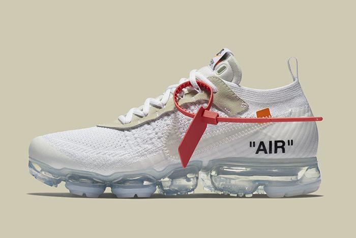 Off White X Nike Air Vapormax 7