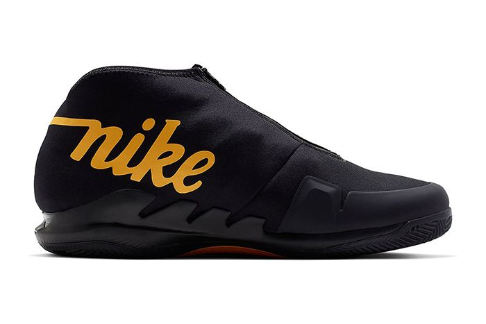 Nike Air Zoom Vapor X Glove Black Gold Aq0568 001 Release Date Medial