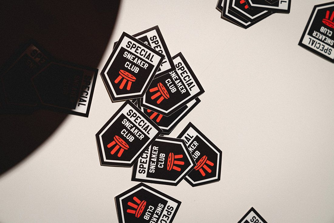 Sneakerness Milan Nike Dunk Expo Special Sneaker Club Event Recap 11 Stickers