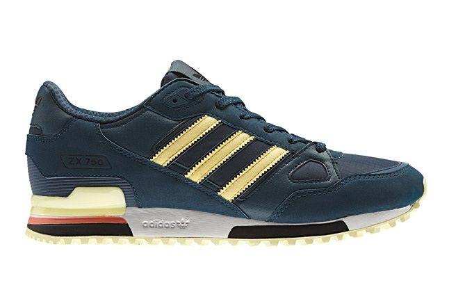 Adidas Originals Spring Summer Blue Yellow Profile 1