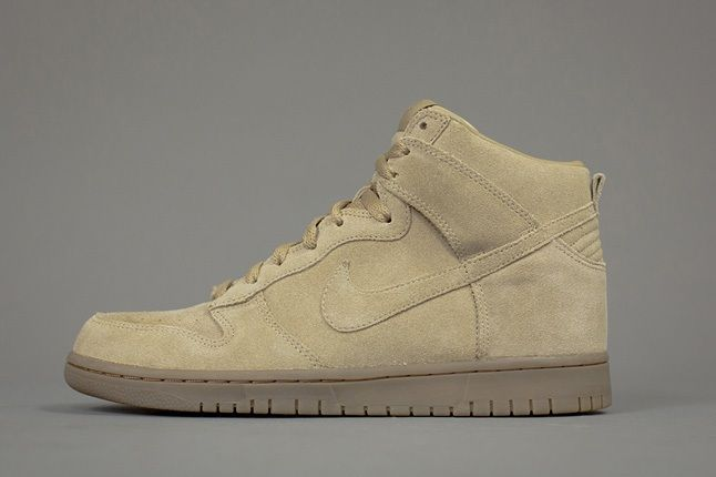 A P C X Nike Spring 2013 Collection Tan Dunk 1