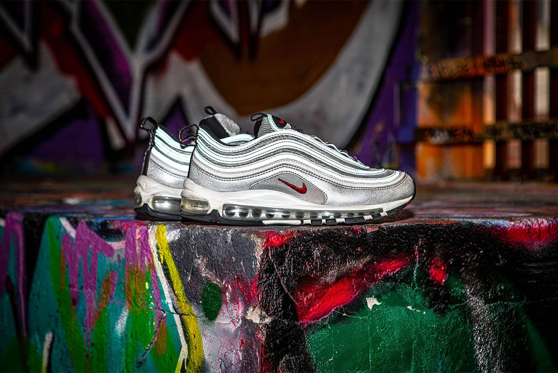 Nike Air Max 97 Silver Bullet Graffiti Right