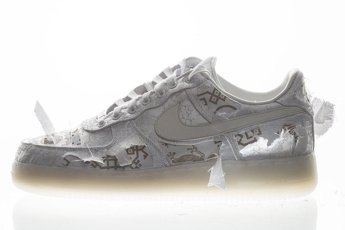 Nike x Clot air force 1 silk