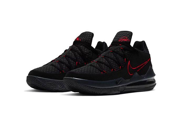 Nike Lebron 17 Bred Low Toe