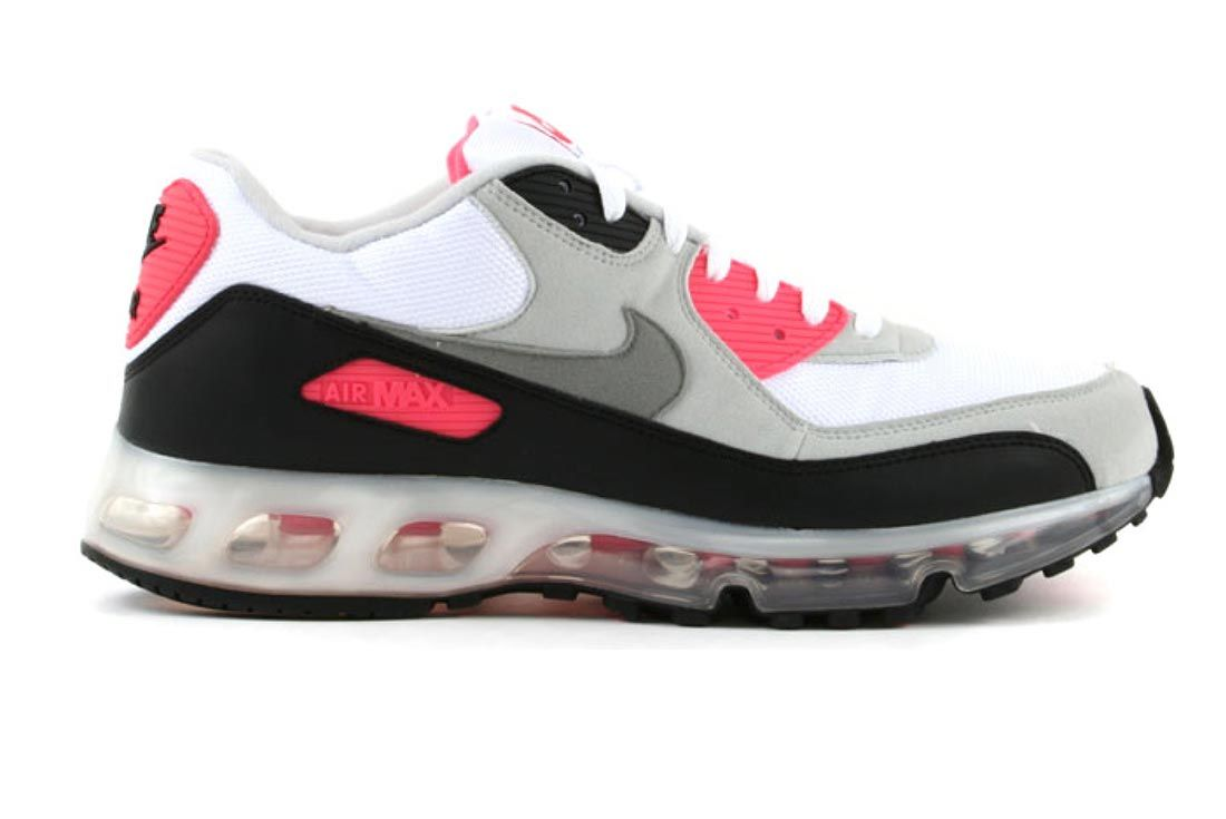 Nike Air Max 90 360 One Time Only Infrared Lateral Side Shot