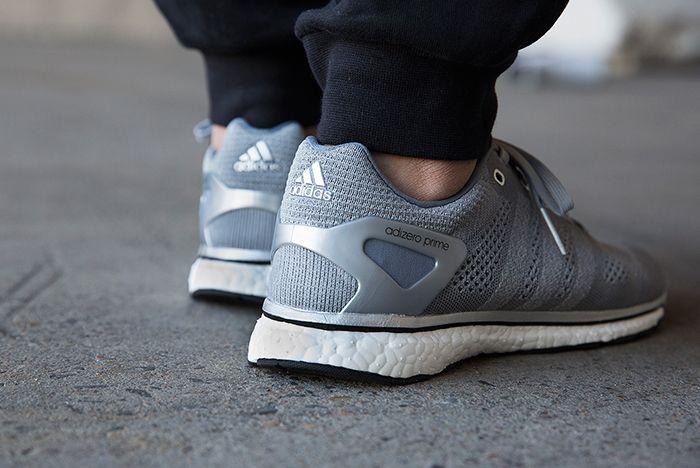 Adidas Adizero Prime Mid Grey2