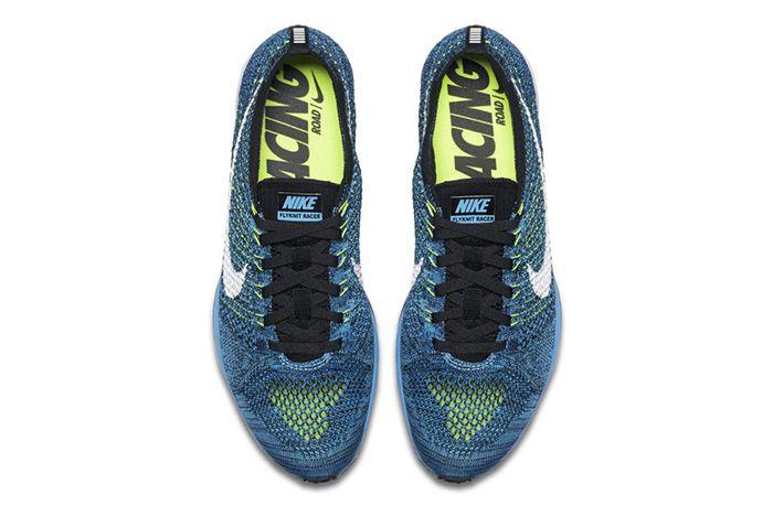 Nike Flyknit Racer Blue Glow 4