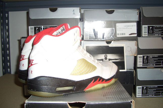 Rebecca Dahms Wmns Basketball Collection Air Jordan 5 Fire Red 1