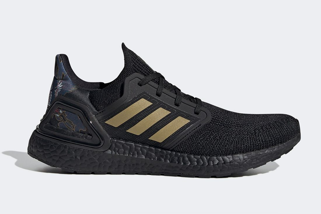 Adidas Ultraboost Cny Black Gold Right