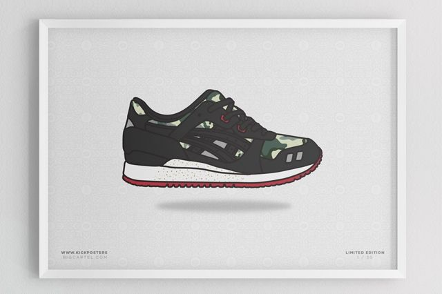 Sneaker Prints Asics Gel Lyte 3
