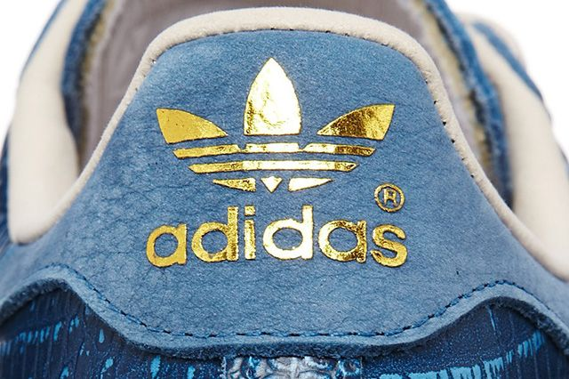 Adidas Superstar 80S Tribe Blue Reptile 1