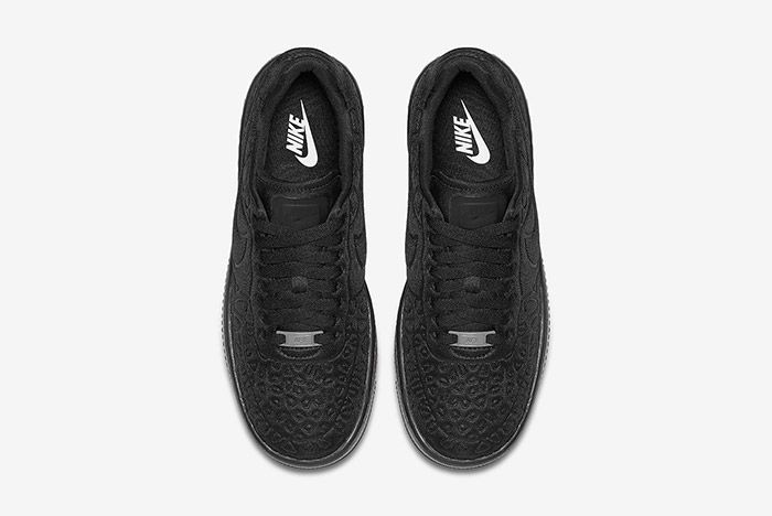 Nike Air Force 1 Upstep Se Black 4