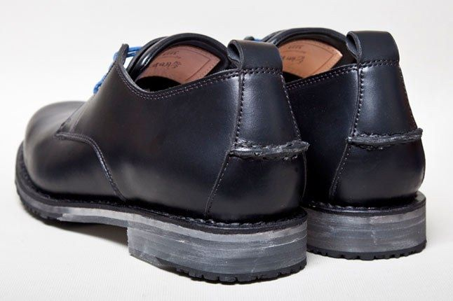 Feit Oxford Black Heel 11