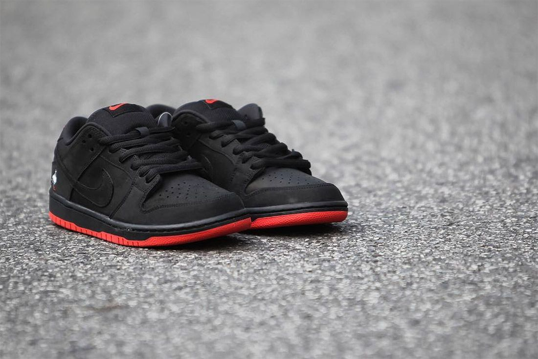 Nike Dunk Low Sb Black Pigeon5