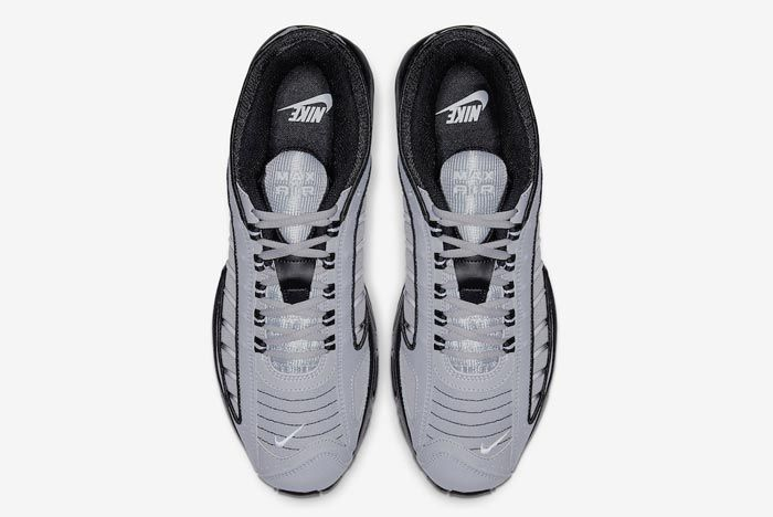Nike Air Max Tailwind 4 Black Grey Top