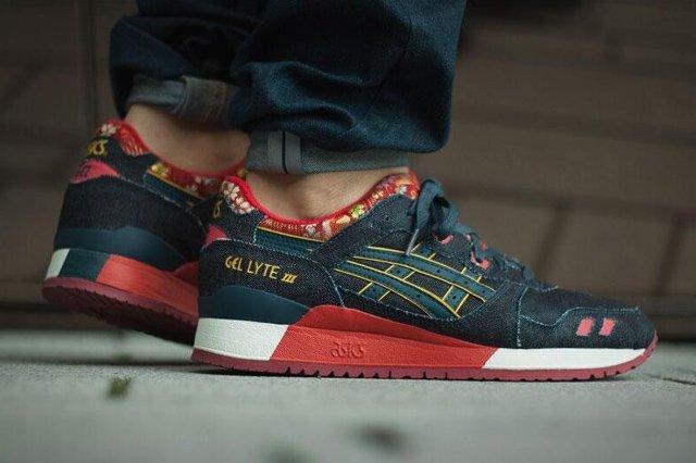 ASICS Gel Lyte III Denim (Indigo) - Sneaker Freaker