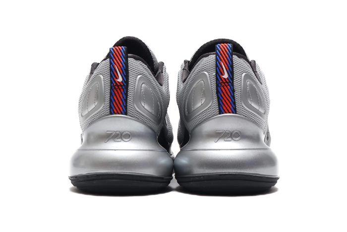 Nike Air Max 720 Metallic Silver Cosmic Clay Heels