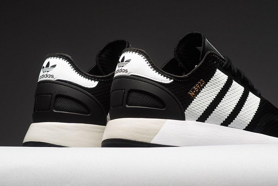 Adidas N 5923 Black White Gold Cq2337 Sneaker Freaker 1