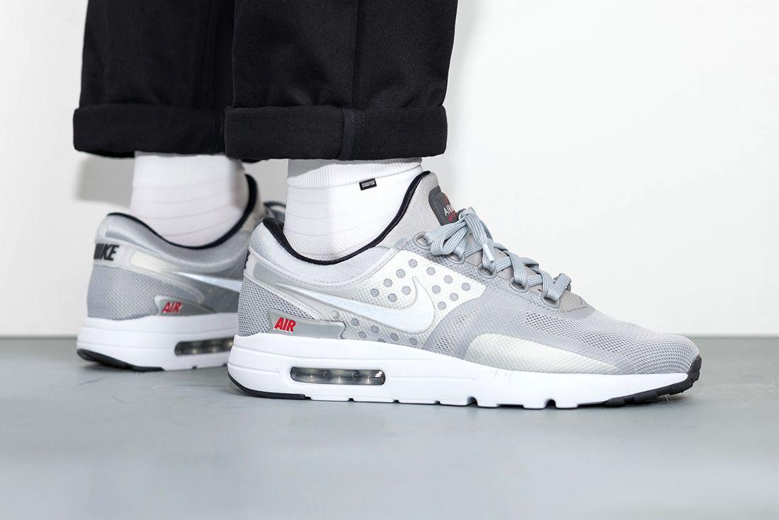 Nike Air Max Zero Metallic Silver11