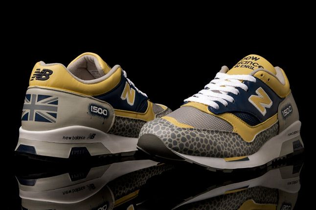 Benji Blunt New Balance Uk 1500 Custom Flimby Pair 1